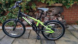 "Giant XTC kids mountain bike (20"")"