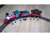 Christmas Train Set with sound and lights