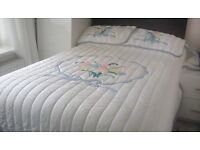 Double Bed throw/quilt