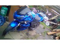 Ajs R7 125cc 15 plate