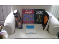 Degree level chemistry books free to collect for student