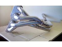 VW Polo Stainless steel race exhaust manifold