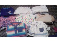 large bundle 0-3 months baby boys clothes