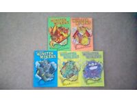 Set of Monster Makers books by Ali Sparkes