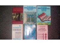 Various used Chess books