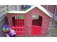 Childrens magic villa playhouse by keter
