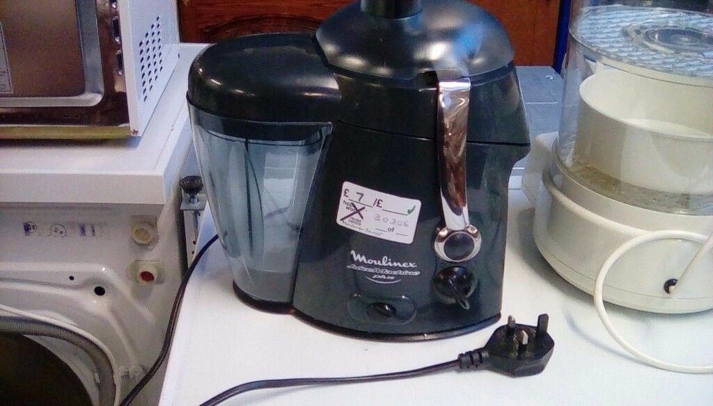 Moulinex Juice Machine Plus #30306 £7
