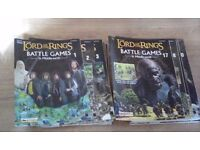 71 LORD OF THE RINGS BATTLE GAMES IN MIDDLE EARTH MAGAZINES