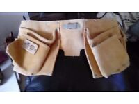 Nail bag brand new leather