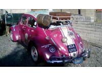 1959 volkswagen beetle Small window semaphore model