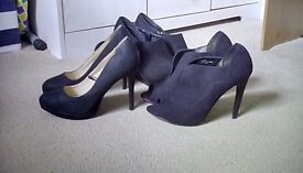 Ladies shoes size 6 (7 pairs)