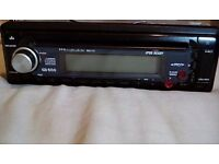 Car stereo cd mp3 player ipod ready wharfdale