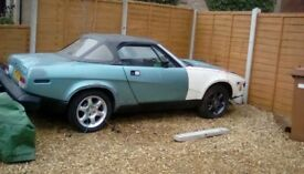 Triumph TR7 covertible breaking for spares