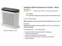 A good condition air purifier