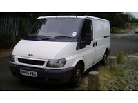 06 plate ford transit swb cheap van