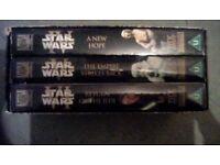 Starwars triology boxset