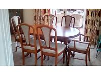 Mcnally and Finlay dining furniture