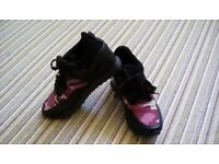 Womans italian leather trainers