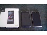 Sony xperia z1 not working(reduced)