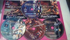 The Legend of Dragoon Playstation1 Game v.rare - £45 ono
