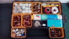 Plumbing fittings box
