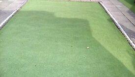 Astro turf, imitation grass,lawn, 13 ft x 19ft
