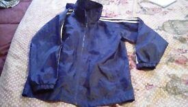 Boys shower proof jacket