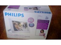 Philips brand new digital photo frame still inbox