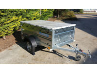 Car camping box trailer