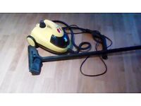 Little yellow steam cleaner