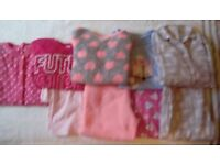 Girls pyjama bundle age 9-10