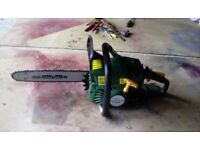 PETROL CHAINSAW 37.2CC