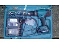 Makita 18v batterie drill