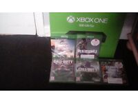 Xbox one boxed 5 games white controller £200 Or Swap For Full Working Pit Or Dirt Bike