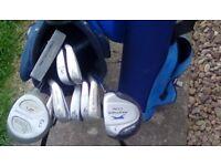 Golf Trolley & Youth Golf Set