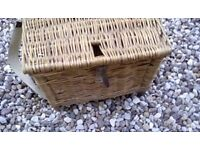 Wicker Fishing Chair/Seat Old But VGC Ideal For Child