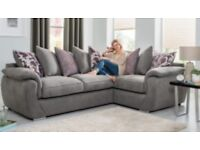 GREY BRAND NEW CORNER SOFA