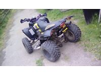Quadzilla smc 250 (2005) fully road legal with current v5