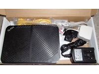 ZyEXL 4 port ADSL WiFi modem router
