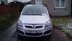 ***2007*** Vauxhaul zafira life 1.6