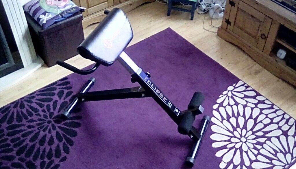 Marcy Eclipse Gym Roman Chair - Hyperextension Bench & Marcy Eclipse Gym Roman Chair - Hyperextension Bench | in Antrim ...