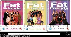 FAT FRIENDS Complete Series 1 2 3 DVD All Episodes New Sealed UK Rel R2 Original