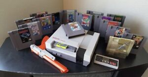 Lots of Nintendo. Nes and Snes
