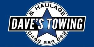 DAVE'S TOWING AND HAULAGE * BACKLOAD * Bundoora Banyule Area Preview