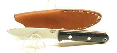 Bark River Knives Mini Kephart, 3V, Black Canvas with Red Liners, EDC, Hike Hunt