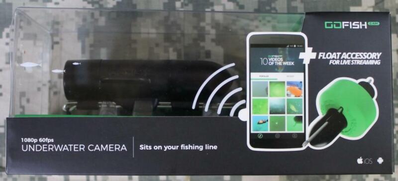 GoFish Underwater Camera 1080p 60fps Float Accessory 500
