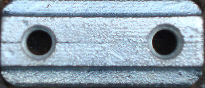10 x Nutenstein/Nutensteine mit 2x M6 Gewinde für Airlineschiene, Zurrschiene