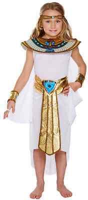 Kinder Mädchen Kleopatra Ägyptischer Pharao Geschichte Kostüm Kleid Outfit 4-1