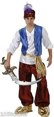 Costume Ingegneria Uomo Principe Aladin XL Guerriero Arabo Nuovo Economico - Aladin Costumes