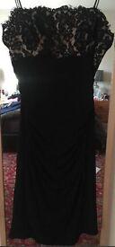 Little black dress, size 8, above knee length, unworn